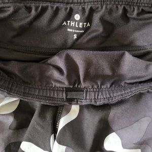 Athleta Shorts - Athleta Camo Running Shorts With Side Pockets. S